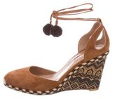 Aquazzura Palm Beach 90 Espadrilles