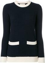 Gucci colour-block sweater