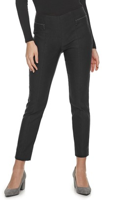 Apt. 9 Petite Pull-On High Rise Skinny Ankle Pants