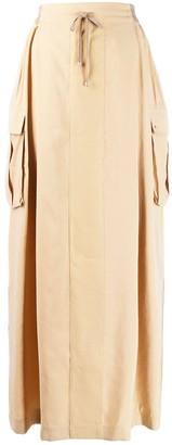 Lorena Antoniazzi pull-on maxi skirt