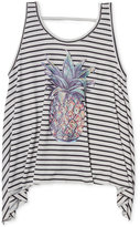 Jessica Simpson Pineapple Graphic-Print Tank Top, Big Girls (7-16)