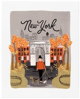 Rifle Paper Co. Rifle Paper New York Autumn Poster - 28x35 cm
