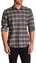 Toscano Plaid Print Regular Fit Shirt
