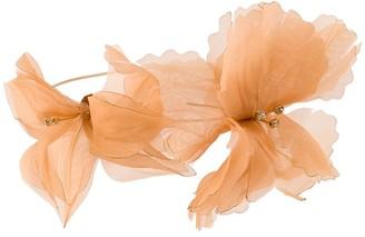 Forte Forte Organza Flower Choker