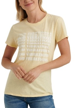 Lucky Brand Good Vibes Graphic T-Shirt