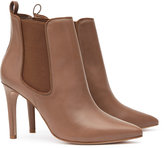 Reiss Raimonda - Point-toe Ankle Boots in Brown, Womens