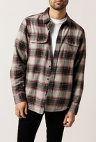 Obey Wilcox Long Sleeve Woven Top