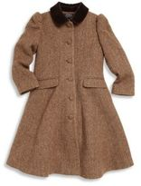 Ralph Lauren Toddler's & Little Girl's Tweed Princess Coat