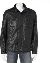 Levi's Men's Sherpa-Lined Open-Bottom Jacket