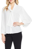 Vince Camuto Women's Long Sleeve Tie-Neck Blouse