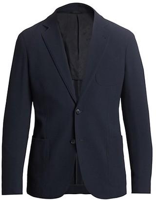 Giorgio Armani Seersucker Stretch Virgin Wool Sportcoat