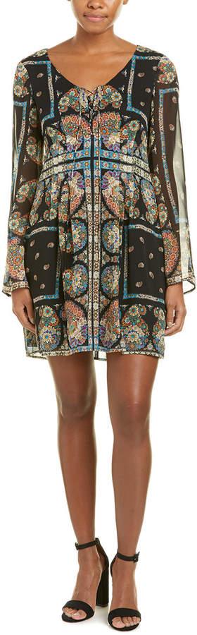 Nanette Lepore My Masterpiece Silk Shift Dress