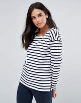 Blend She Gilli Striped Long Sleeved T-Shirt