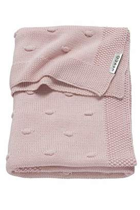 Camilla And Marc Meyco 2753052 Knitted Blanket with Knot Design 100 x 150 cm Pink