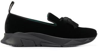 Tom Ford Turner velvet sneakers
