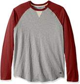 True Grit Men's Vintage Baseball Raglan Long Sleeve T-Shirt