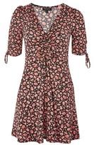 Topshop Ditsy Print Tea Dress