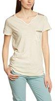 Lerros Women's T-Shirt - Beige -