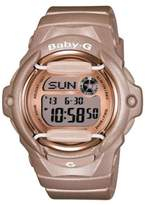 G-Shock Ladies Pink Champagne Baby-G Watch