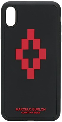 Marcelo Burlon County of Milan 3D cross logo iPhone XS Max case