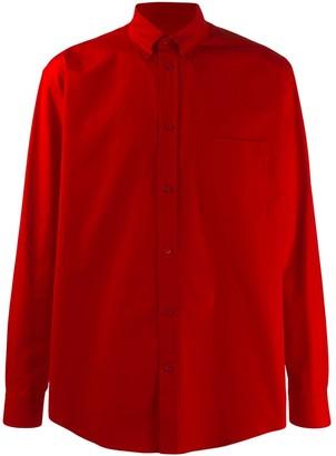 Balenciaga Square Shoulder Shirt