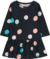 Munster Polka Dot Swirl Dress Noir