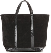 Vanessa Bruno Cabas Medium Suede Shopper