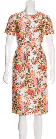 Stella McCartney Brocade Midi Dress
