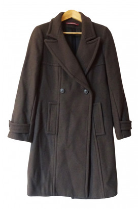 Comptoir des Cotonniers Brown Wool Coats