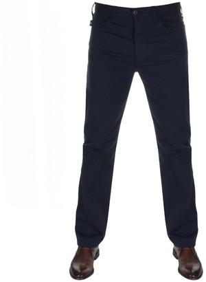 Giorgio Armani Emporio J21 Regular Fit Stretch Jeans Navy