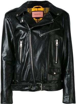 Gucci GucciGhost biker jacket