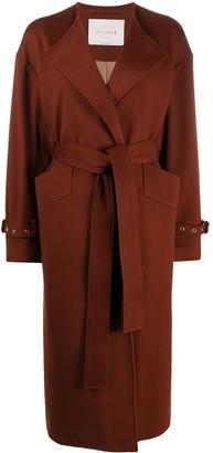 MACKINTOSH Long Belted Waist Coat