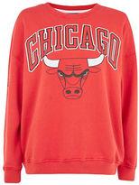 Topshop Chicago Bulls Sweatshirt by UNK X Topshop