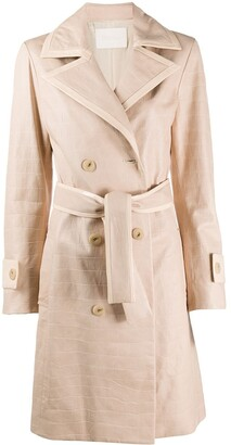 Drome Double-Breasted Belted Coat