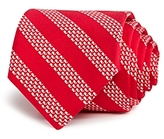 Vineyard Vines Micro Whale Striped Wide Tie