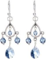 Chan Luu Sterling Silver Hanging Crystal Earrings