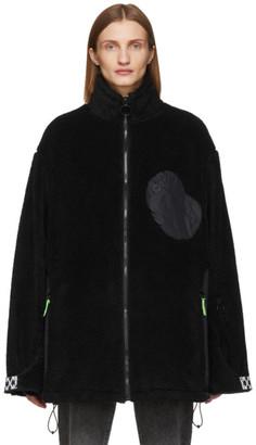 Off-White Black Equipment Fleece Jacket