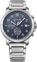 Tommy Hilfiger Men's Casual Sport Stainless Steel Bracelet Watch 44mm 1791360