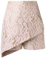 Martha Medeiros - lace skort - women - Acetate - 40