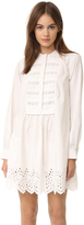 Rebecca Taylor Long Sleeve Lace Dress