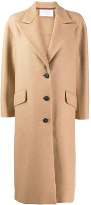 Harris Wharf London Flap Pocket Detail Coat