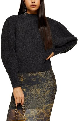 Topshop Supersoft Volume Sleeve Sweater