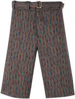 Missoni woven bermuda shorts