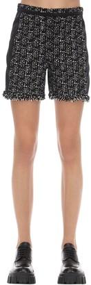 Karl Lagerfeld Paris Techno Boucle Shorts