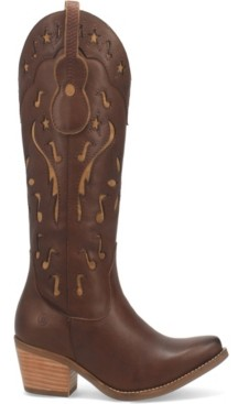 Dingo Women's Music City Leather Boot Women's Shoes