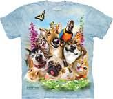 The Mountain Pet Selfie Adult T-Shirt Tee