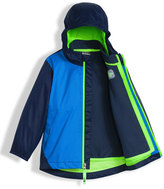 The North Face Stormy Rain Triclimate®; Hooded Jacket, Blue, Size 2-4T