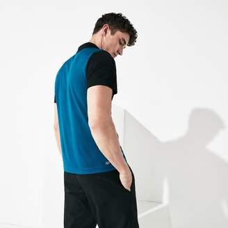 Lacoste Men's SPORT Breathable Color-Block Pique Polo