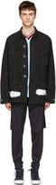 Off-White Black Diagonal Spray Field Jacket