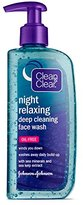 Clean & Clear Clean&Clear Night Relaxing Deep Cleaning Face Wash, 8 Fluid Ounce